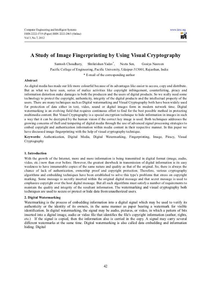 Computer Engineering and Intelligent Systems                                                                www.iiste.orgI...