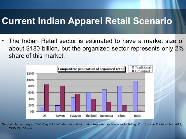 a comparative study of retailing in india essay Ing foreign direct investment in multi-brand retailing in india we nd in this study  of barriers to foreign investment in a comparative static computable.