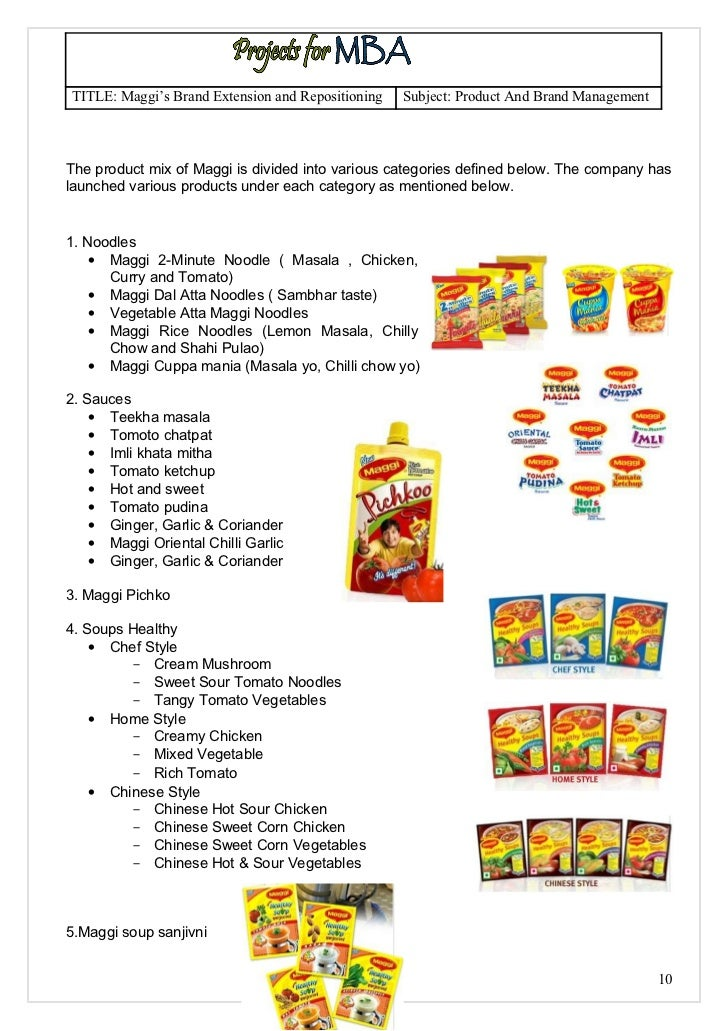 nestles maggi pricing and repositioning a recalled product