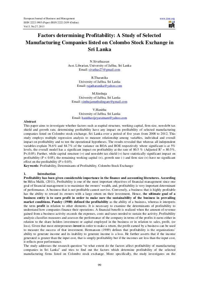 European Journal of Business and Management ISSN 2222-1905 (Paper) ISSN 2222-2839 (Online) Vol.5, No.27, 2013  www.iiste.o...