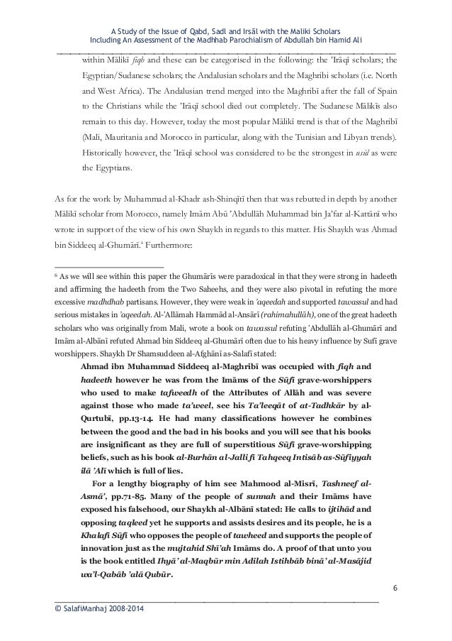 an analysis of the issue of hadith Title = al-jarh wa al-ta'dil(criticism and praise): it's significant in the science of hadith, abstract = this study aims to investigate a hadith (prophetic tradition) whether it is acceptable or unacceptable based on the trustworthness and weaknesses of narrator in the hadith scholars view.