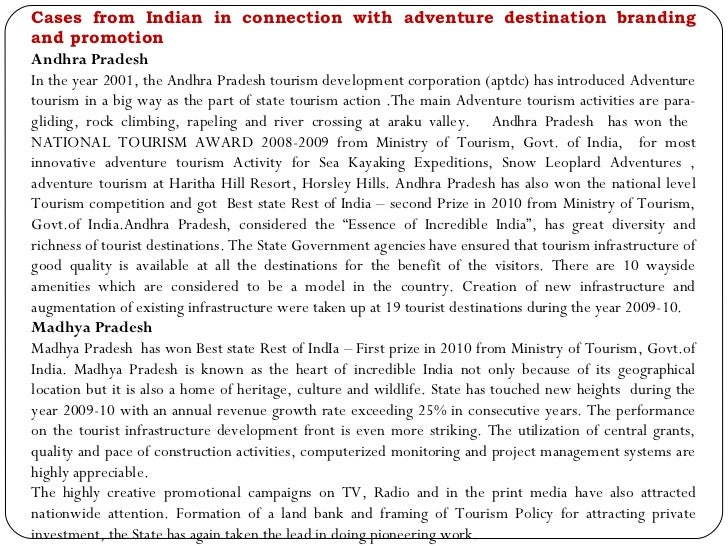 Key facts on adventure tourism