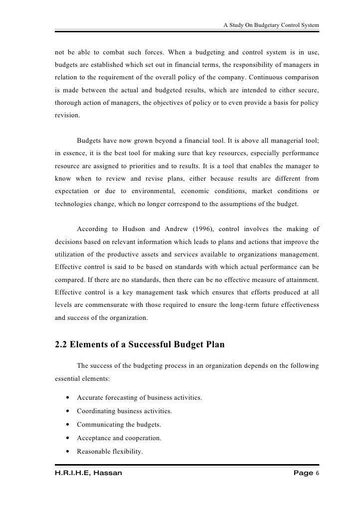 budgetary requirements thesis The proposed budget must include travel funds to attend the next aera annual meeting funding restrictions dissertation grantees may not accept concurrent grant or fellowship awards from another agency, foundation, institution or the like for the same dissertation project that is funded by the aera grants program.