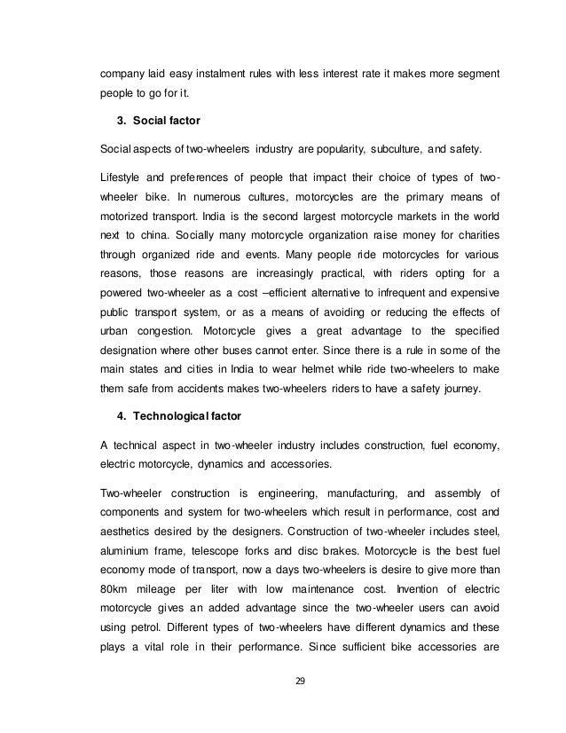 A Study on Customer Preference and Satisfaction Towards Bajaj Bikes