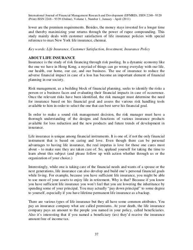 insurance policies consumer behaviour The digital insurer reviews nobleoak life limited's report on life insurance in australia: consumer behaviour transformation links to original report also provided.