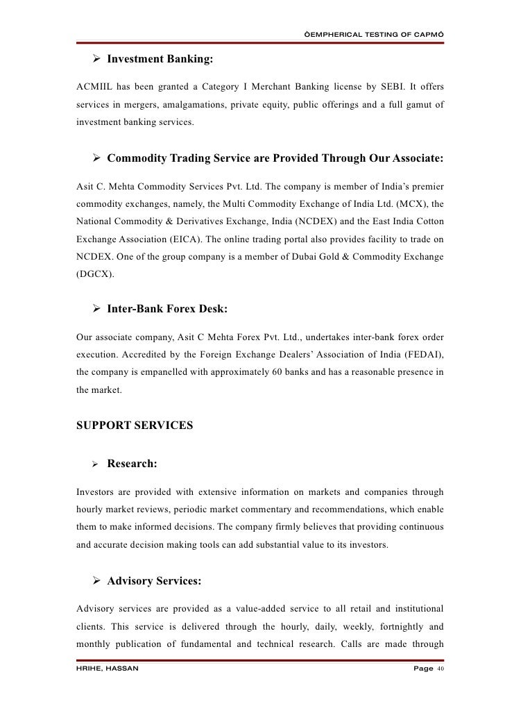 asset pricing model study Capm refers to the capital asset pricing model it is used to determine the required rate of return for any risky asset it is used to determine the required rate of return for any risky asset in the discussion about the markowitz efficient frontier, the assumptions are.