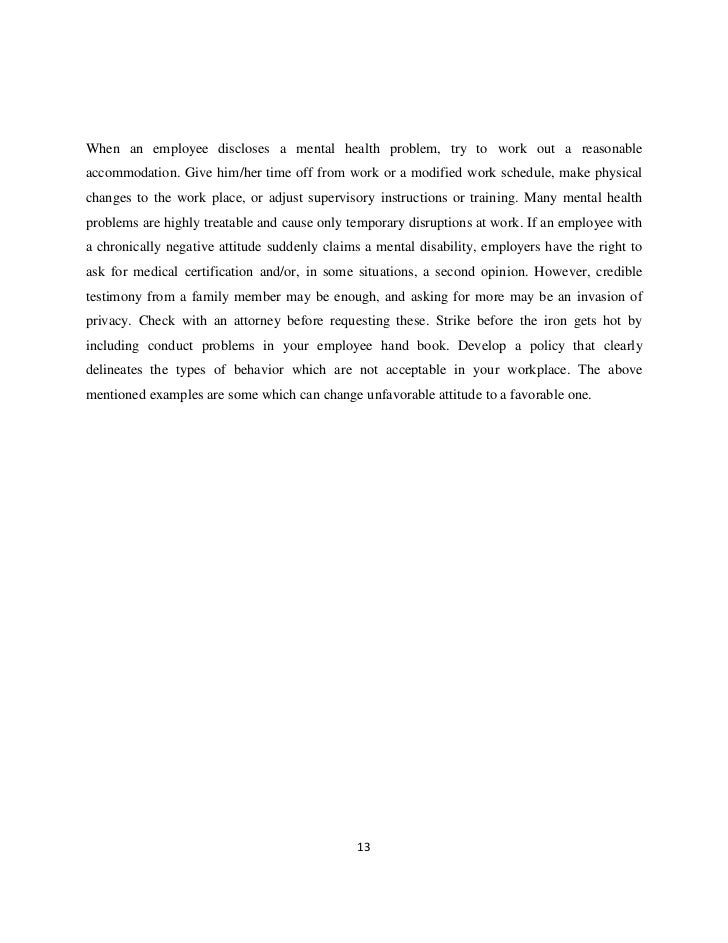 A Comparative Study of Employee-attitude of Permanent and ...