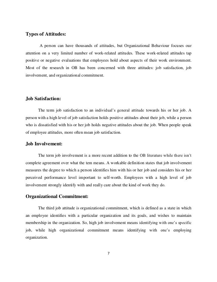 employee attitudes essay Free essay: 11 introduction in every organization, people are working within a suitable environment of attitudes each employee has attitudes that range.