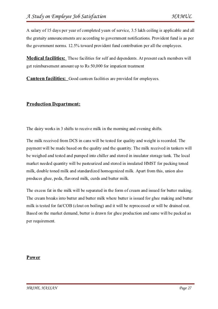 A study on employee job satisfaction h r final project – Staff Promotion Announcement Template