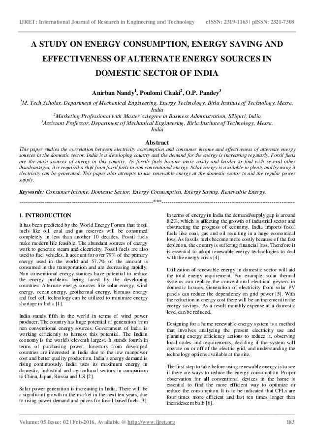 fossil fuels and alternative energy sources research paper Yes, alternative energy can effectively replace fossil fuels with the vast amounts of already existing alternative fuel sources and the fact that scientists are continuing to research newer and better forms of energy it is impossible to say that it can't effectively replace fossil fuels.