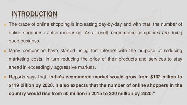 A study on factors influencing consumer's online shopping Slide 2