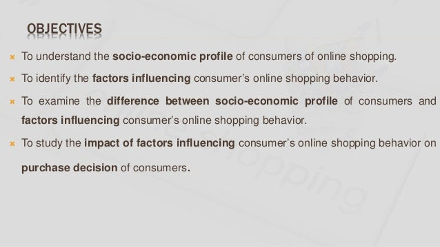A study on factors influencing consumer's online shopping Slide 3