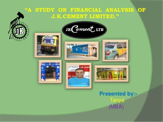Jk Cement Webmail : A study on financial analysis of jk cement limited
