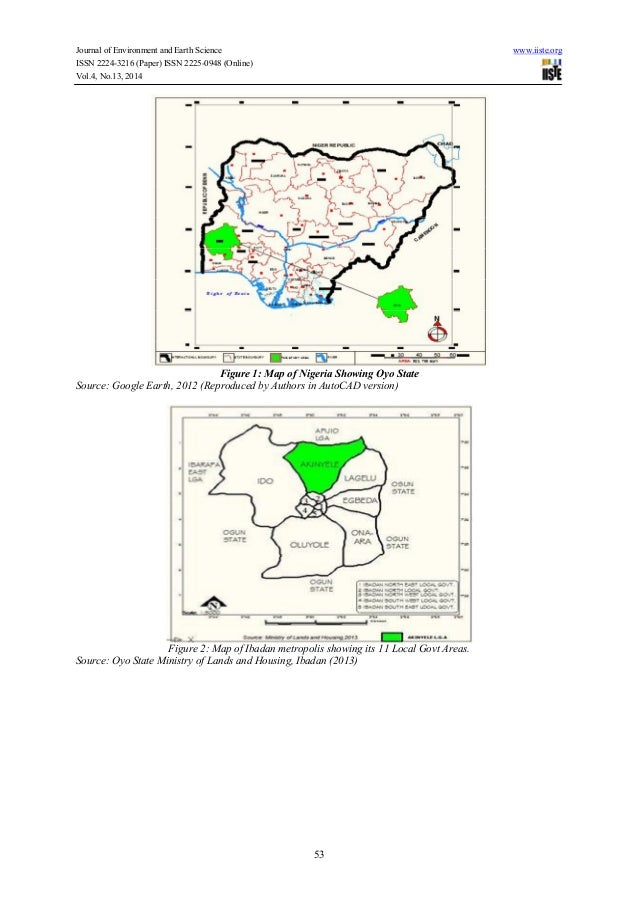 Image Result For Oyo State Map