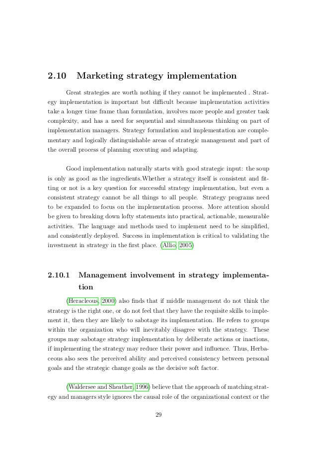 theoritical perspective of marketing strategy Strategy (strategic management) as an essential tool of a manager  the origins of strategy • a historical perspective reveals its the military roots.