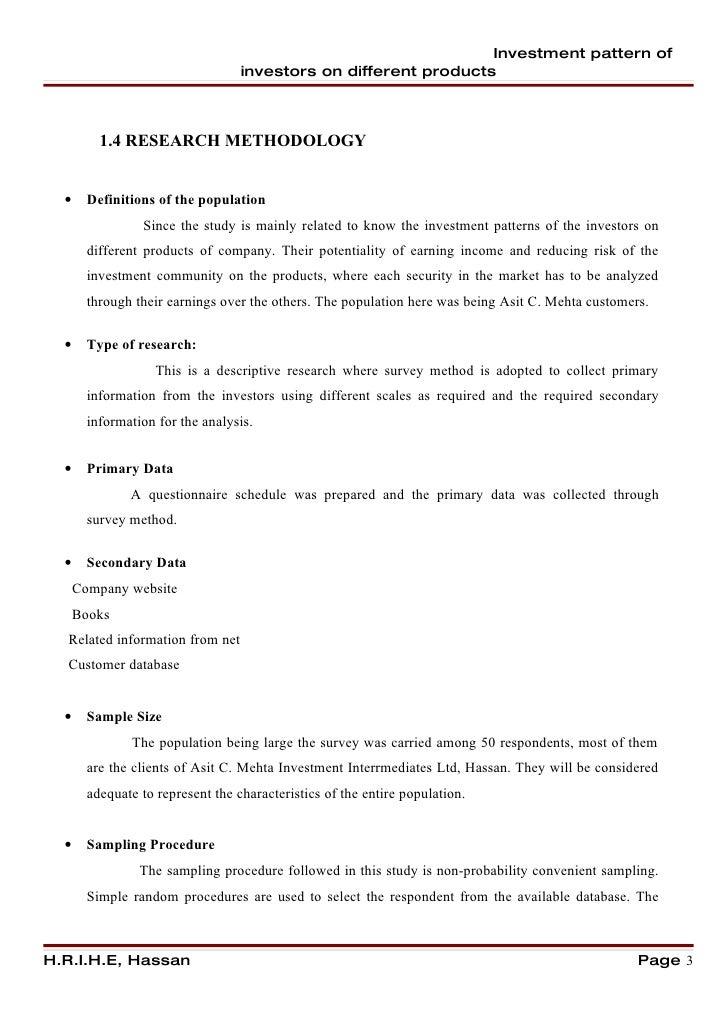 Coordinated Portfolio Investment Survey