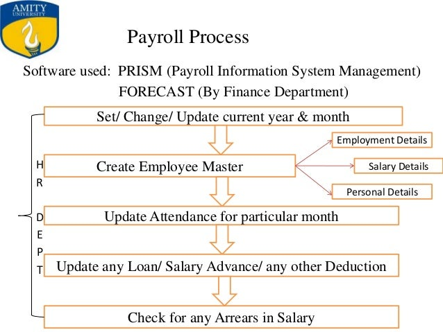 Objective of the study thesis payroll system