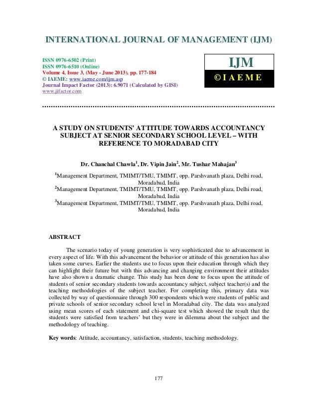 International Journal of Management (IJM), ISSN 0976 – 6502(Print), ISSN 0976 - 6510(Online), Volume 4, Issue 3, May- June...