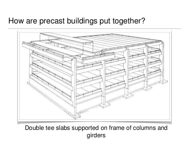 Precast Concrete Framing : A study on the construction process precast concrete in