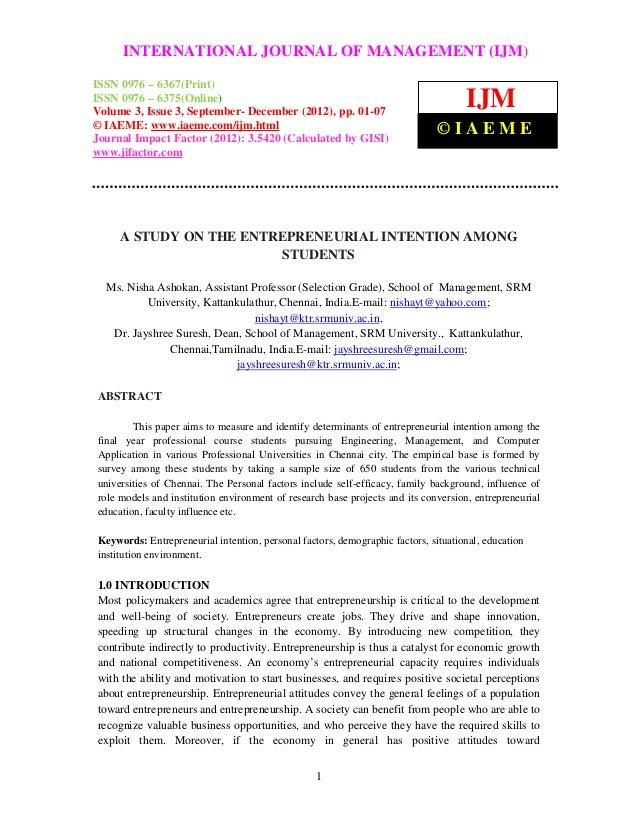 International Journal of Management (IJM), ISSN MANAGEMENT (IJM) –     INTERNATIONAL JOURNAL OF 0976 – 6502(Print), ISSN 0...