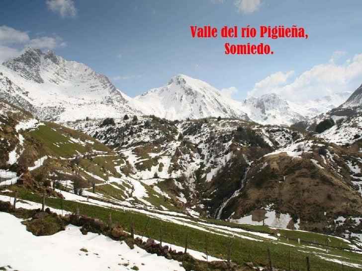 Valle del río Pigüeña, Somiedo.