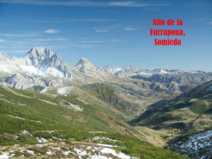 Alto de la Farrapona, Somiedo