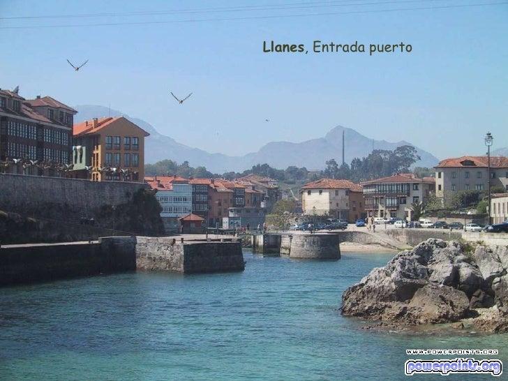 Llanes , Entrada puerto