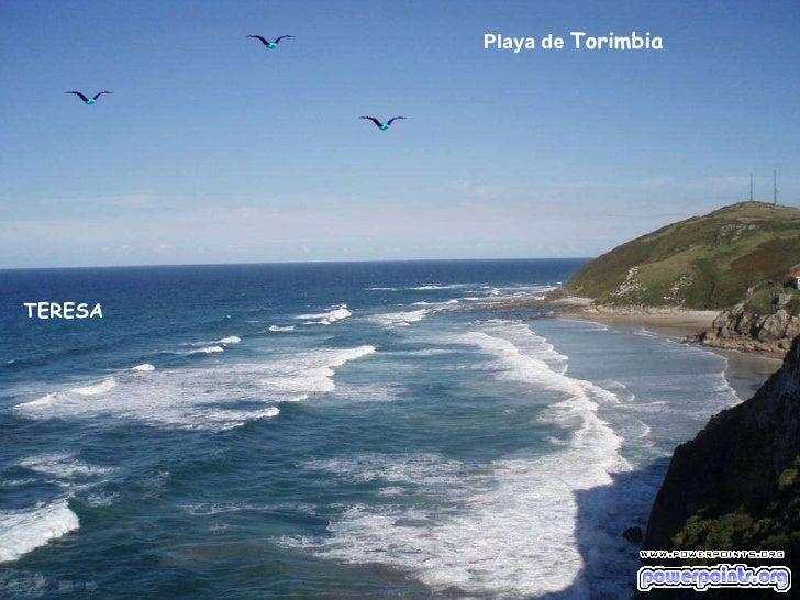 Playa de  Torimbia TERESA