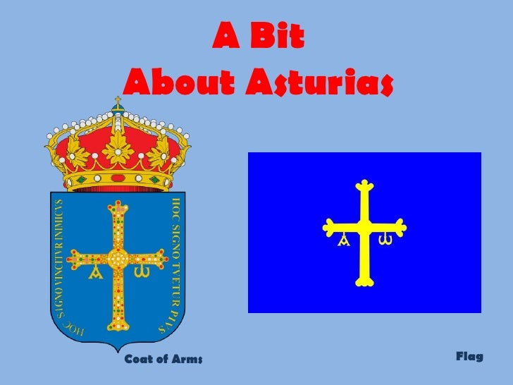 A Bit About Asturias Coat of Arms Flag