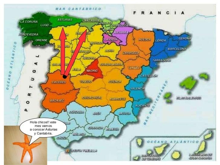 Hola chicos!! este mes vamos a conocer Asturias y Cantabria.