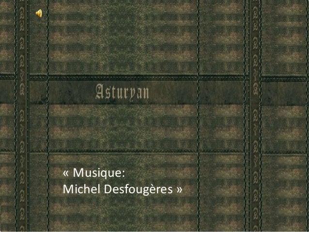 « Musique: Michel Desfougères »
