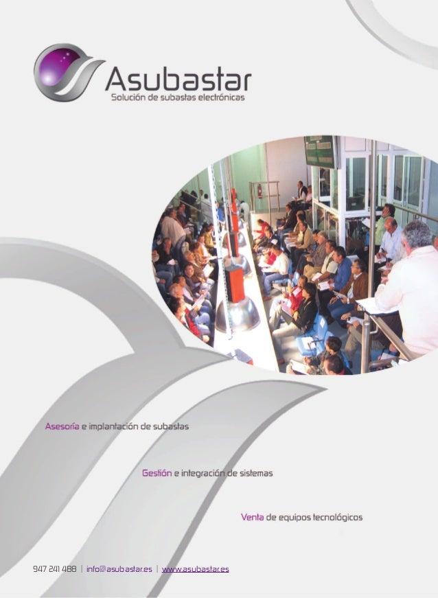 947 241 488 | info@asubastar.es | www.asubastar.es
