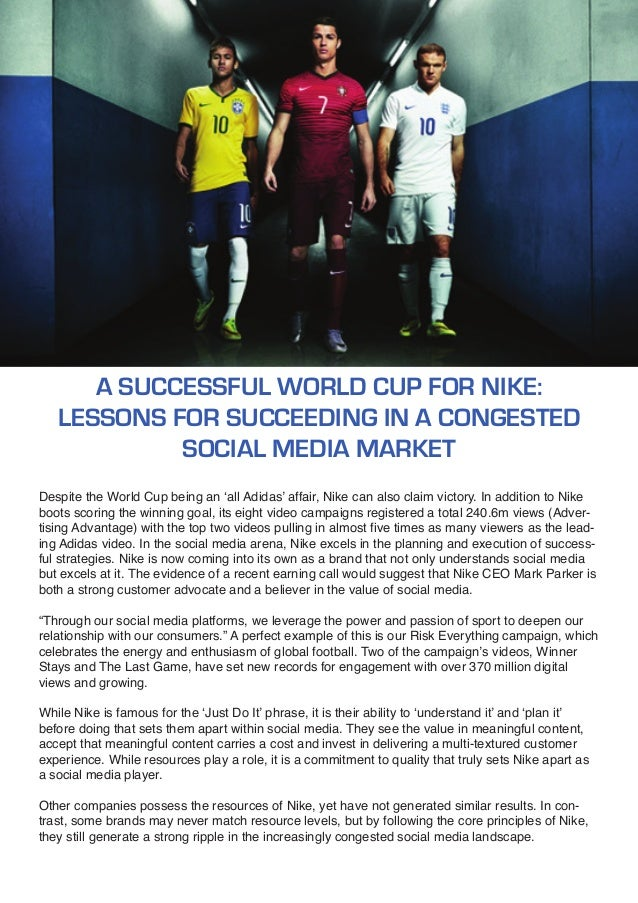 why is nike successful In short, google is so successful because they have built a brand of enormous strength with great capital efficiency the main reason for this efficiency and their continued great margins is the amazing fact that google gets their search information from others, for free.