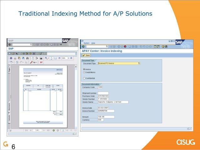 OCR And Content Management With SAP And Imaging - Invoice ocr software
