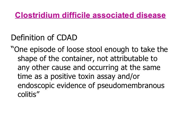 treatment of clostridium difficile infection health and social care essay Health essay examples  clostridium difficle infection in health-care workers  clostridium difficile is a bacillus that is gram positive and forms spores.