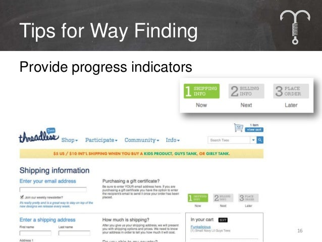 Tips for Way FindingRely on Site Search• Functionality is familiar• Use insights to build relevance• http://www.google.com...
