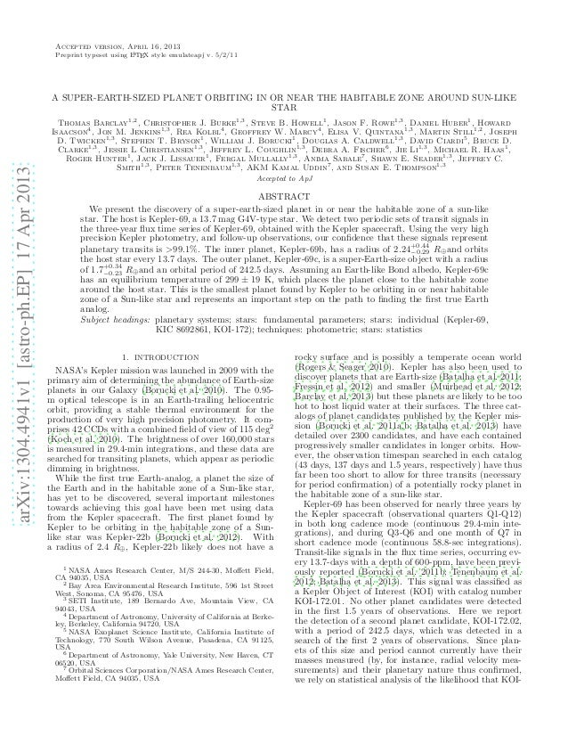 arXiv:1304.4941v1[astro-ph.EP]17Apr2013Accepted version, April 16, 2013Preprint typeset using LATEX style emulateapj v. 5/...