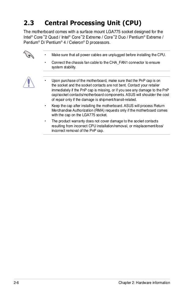 Asus P5k Manual Pdf