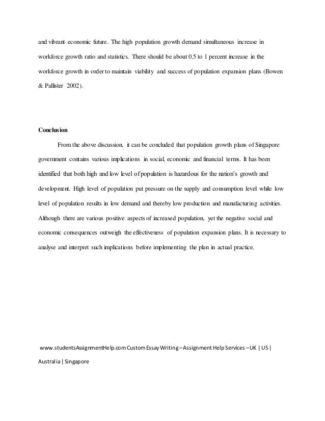 a sustainable population essay for dynamic singapore by studentsassi   11