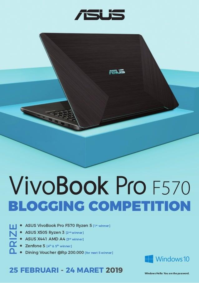 Lomba Blog VivoBook Pro F570