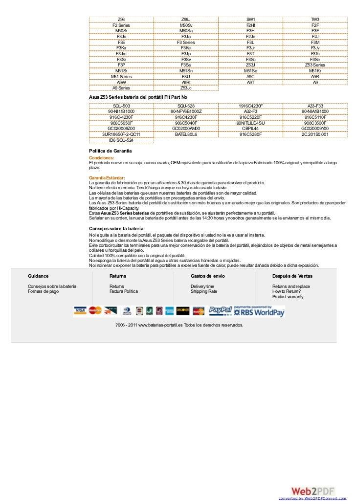 Asus z53 series batería at www baterias-portatil-es Slide 3