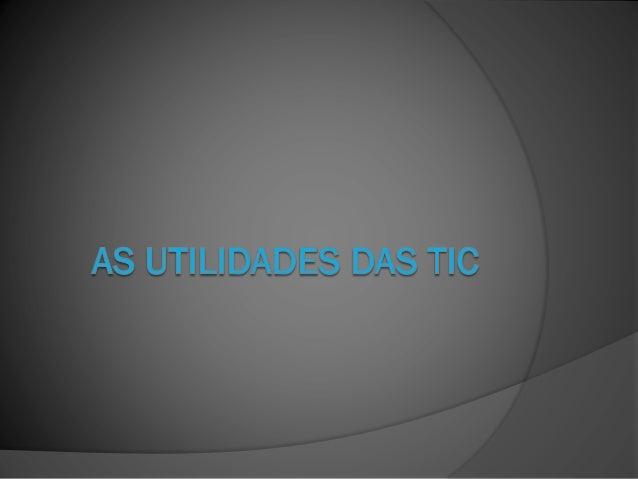  O termo Tic designa o conjunto de recursos tecnológicos e computacionais para criação, utilização e armazenamento de inf...