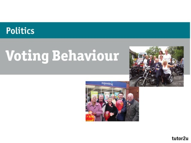 voting behaviour uk essay Open document below is an essay on examine the view that social class is no longer relevant for an understanding of the voting behaviour in the uk.