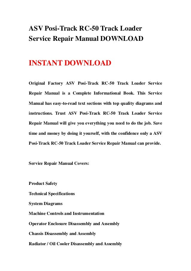 asv positrack rc50 track loader service repair manual 1 638?cb=1358021258 asv posi track rc 50 track loader service repair manual asv rc50 wiring diagram at bakdesigns.co