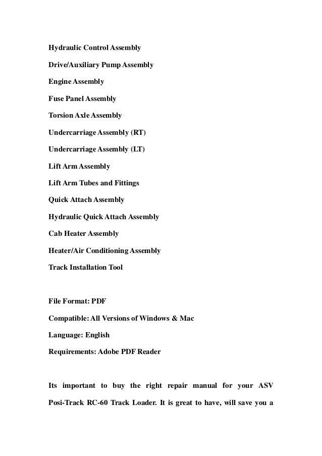 asv posi track rc60 track loader master parts manual download 2 638?cb=1358795304 asv posi track rc 60 track loader master parts manual download asv rc60 wiring diagram at edmiracle.co