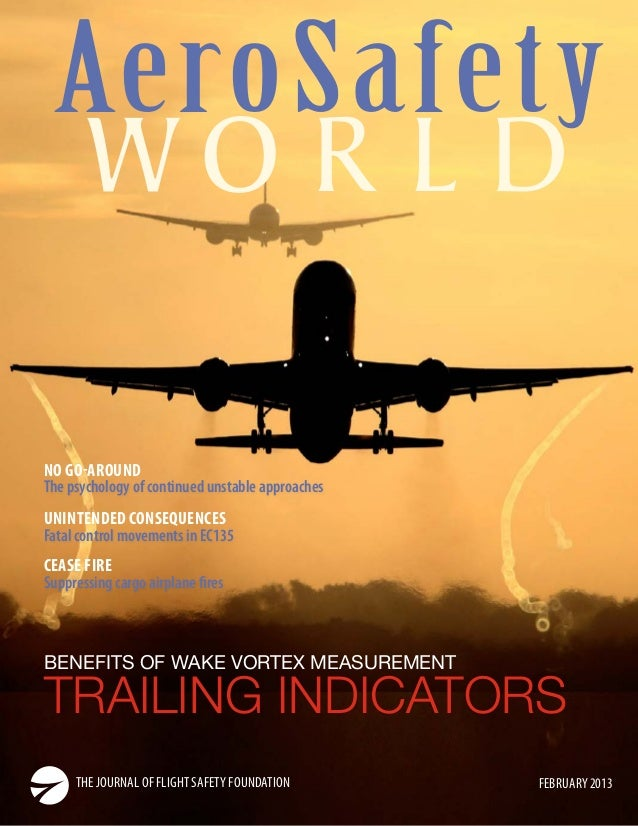 AeroSafety WO R L D  NO GO-AROUND The psychology of continued unstable approaches UNINTENDED CONSEQUENCES Fatal control mo...