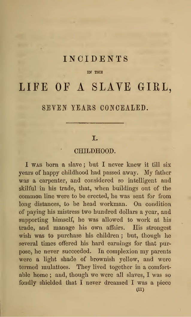 incidents of a life of a Important quotes from incidents in the life of a slave girl helpful for writing essays and understanding the book.