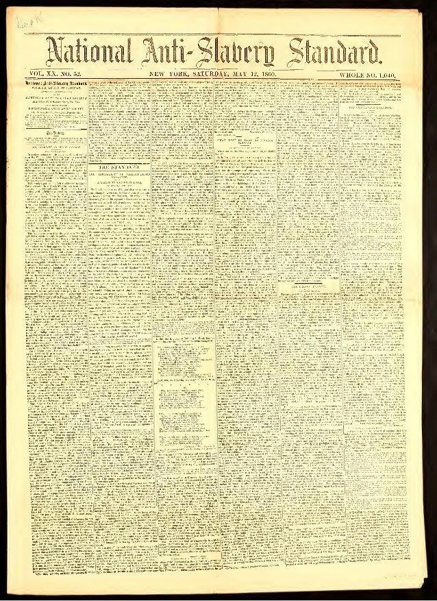 t^ Jfafimtal Jteli^fateffl $teikii VOL. XX. NO. 52. NEW YORK, SATURDAY, MAY 12, 1860. WHOLE NO. 1,040. laatlrninUnM-Slinia...