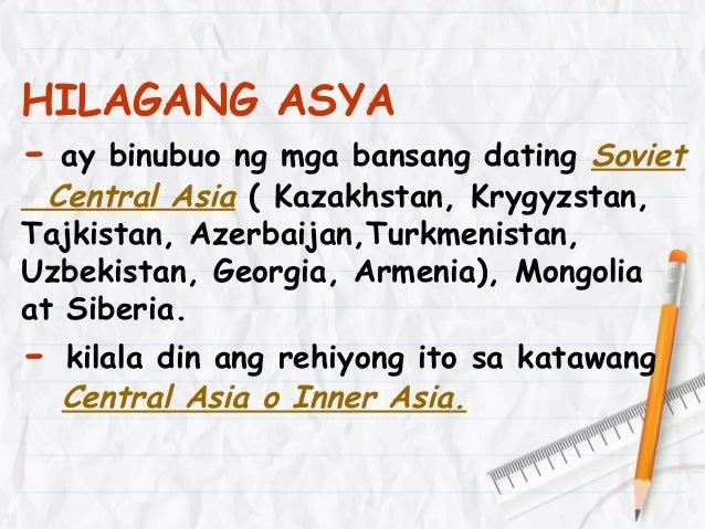 Asya bilang isa sa pitong kontinente sa daigdig