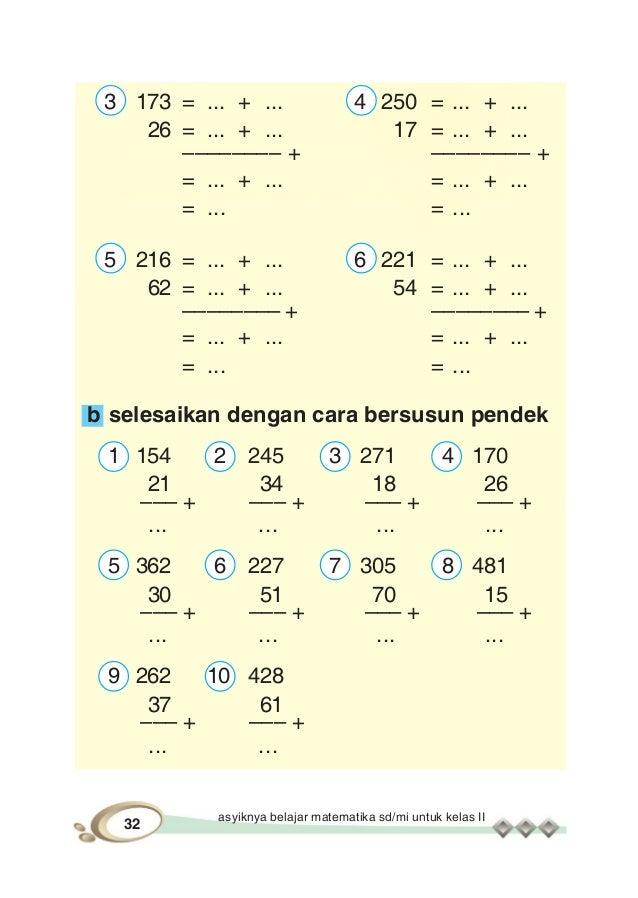Asyiknya Belajar Matematika 2